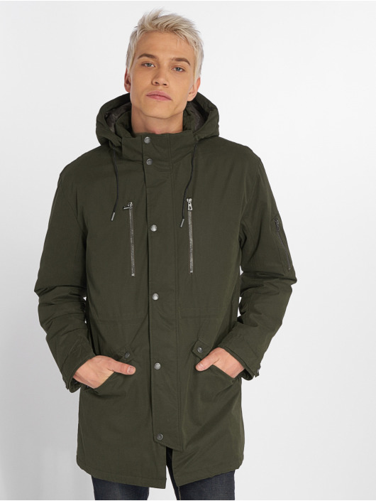 Only & Sons Parka onsKlaus Winter oliwkowy