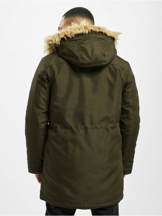 Only & Sons Parka onsBasil Noos oliwkowy