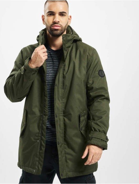 Only & Sons Parka onsFavour Walther oliwkowy