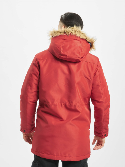Only & Sons Parka onsBasil röd