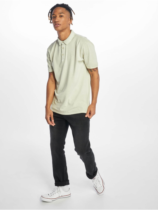 Only & Sons Polo onsEven Stand Fitted Noos gris