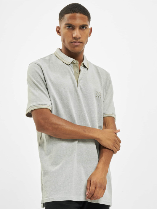 Only & Sons poloshirt onsStan Life Fitted Noos grijs