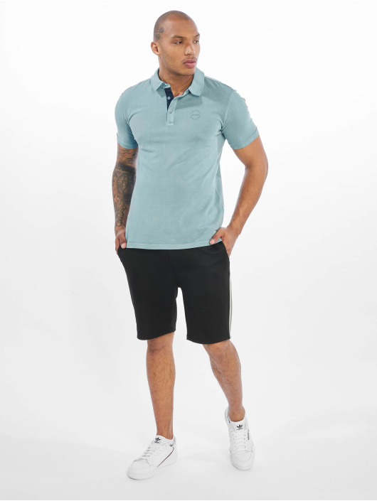 Only & Sons Poloskjorter onsEven Stand Fitted Noos blå