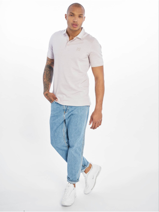 Only & Sons Poloskjorter onsStan Fitted Noos grå