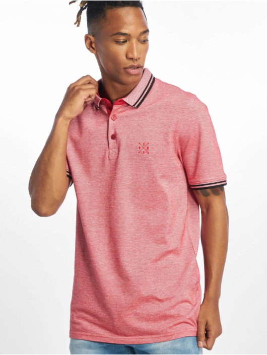 Only & Sons Poloskjorter onsStan Fitted Noos red