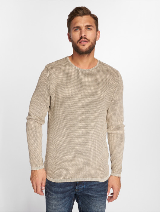 Only & Sons Pullover onsHugh Line beige