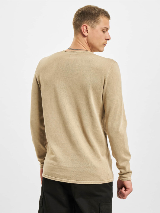 Only & Sons Pullover onsGarson Life 12 Wash Knit Noos beige