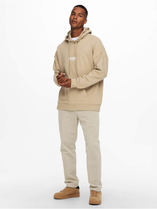 Only & Sons Pullover Onsnasa beige