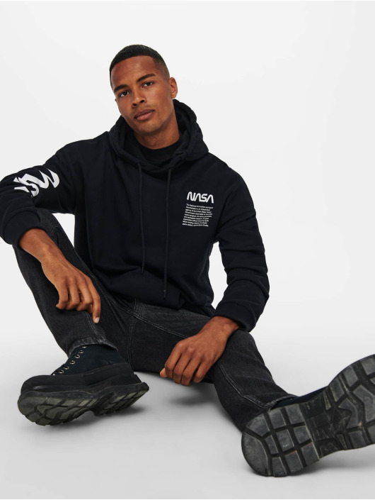Only & Sons Pullover Onsnasa black