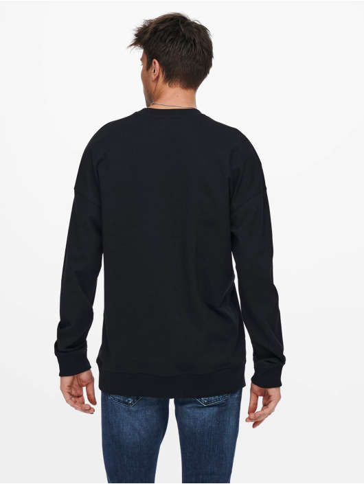 Only & Sons Pullover Onsfilip black