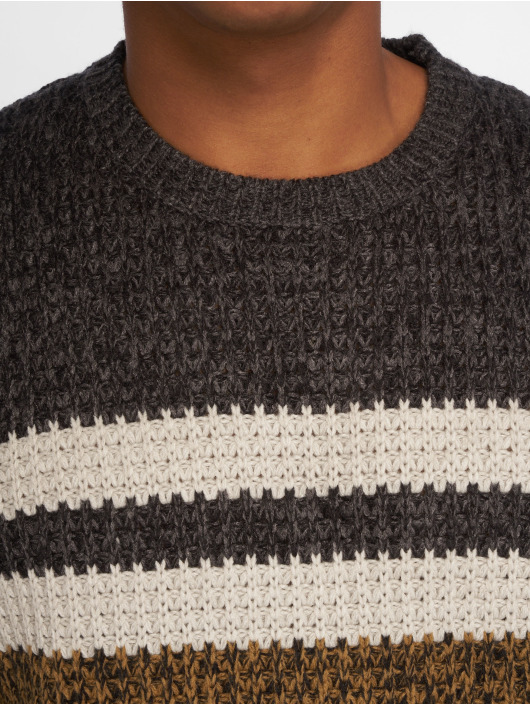 Only & Sons Pullover onsLazlo 3 Blocked brown