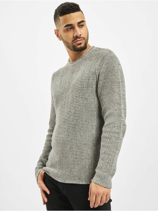 Only & Sons Pullover onsSato 5 Multi CLR Knit Noos grau