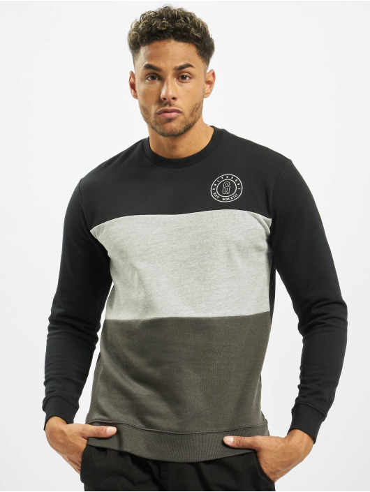 Only & Sons Pullover onsKeefer Cutnsew gray