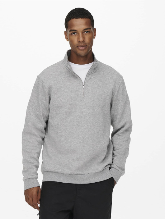 Only & Sons Pullover Onsceres grey