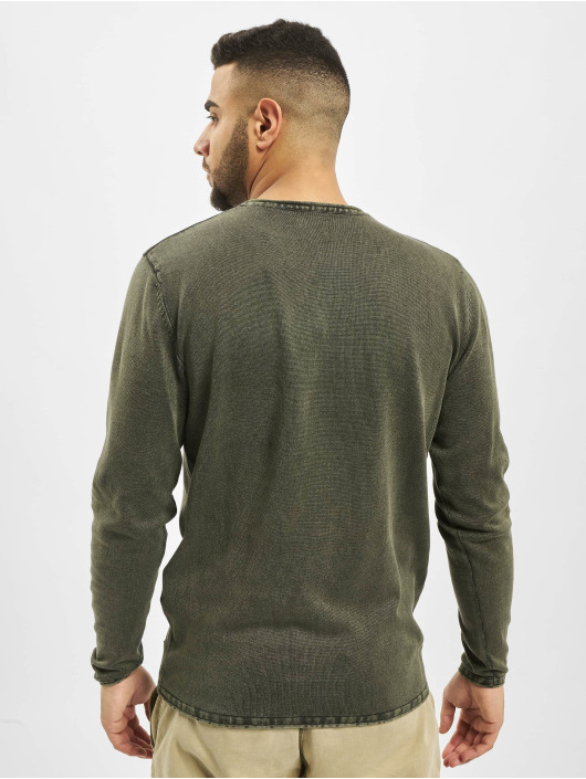 Only & Sons Pullover onsGarson 12 Wash Knit Noos grün
