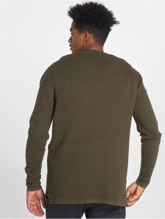 Only & Sons Pullover Onslukas 3d Structure Knit olive
