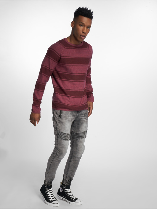 Only & Sons Pullover onsAlexo 12 Striped red