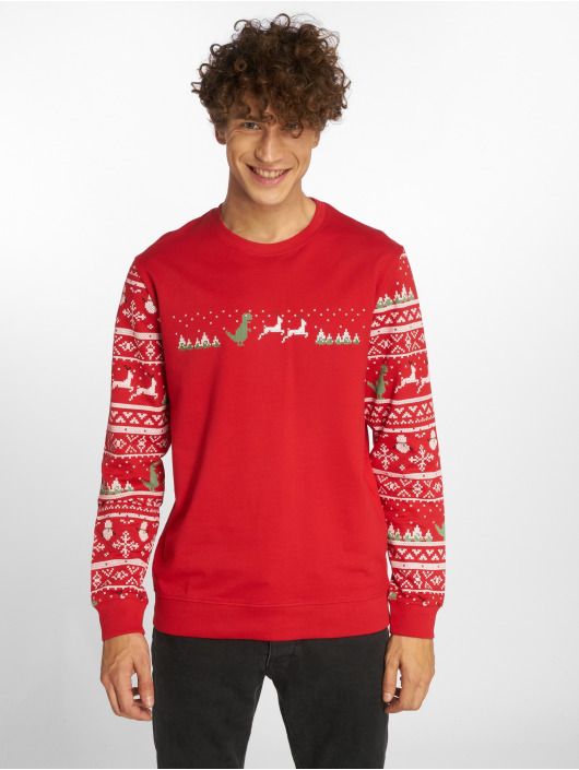 Only & Sons Pullover onsRexmas red