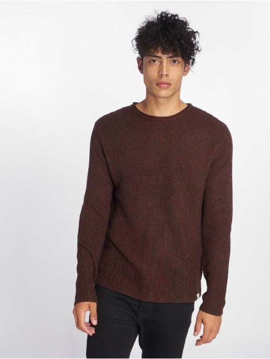 Only & Sons Pullover onsSato 5 Multi Clr Knit red