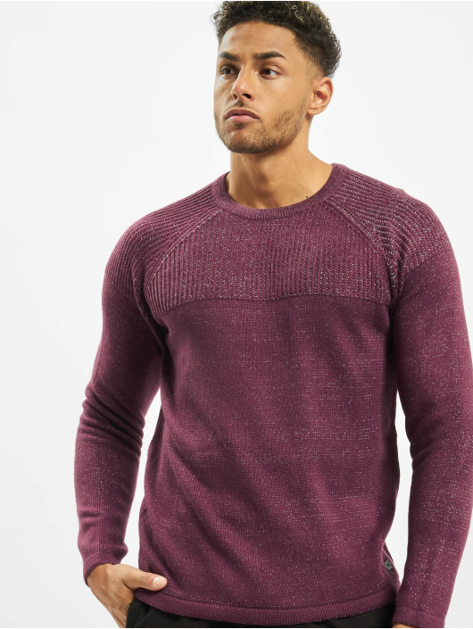 Only & Sons Pullover onsPeer 7 rot