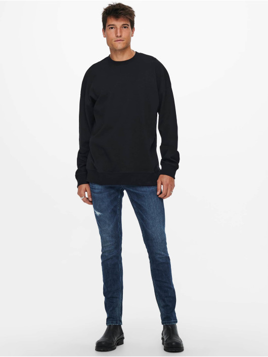 Only & Sons Pullover Onsfilip schwarz