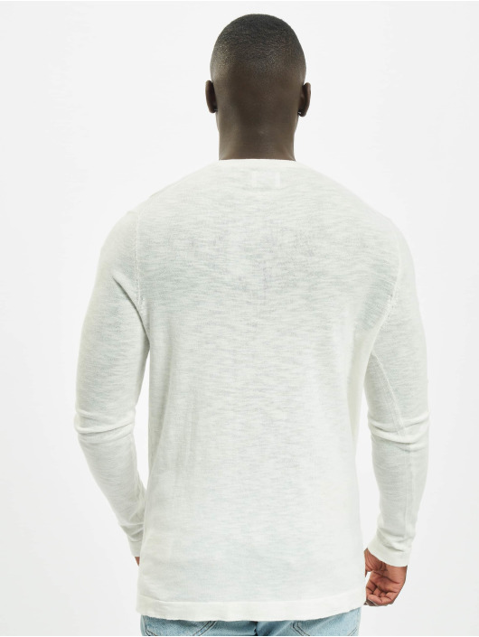 Only & Sons Pullover OnsCost Pocket Knit weiß