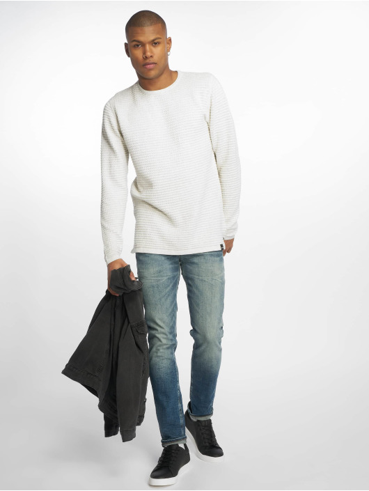 Only & Sons Pullover onsLukas 3d Structure white