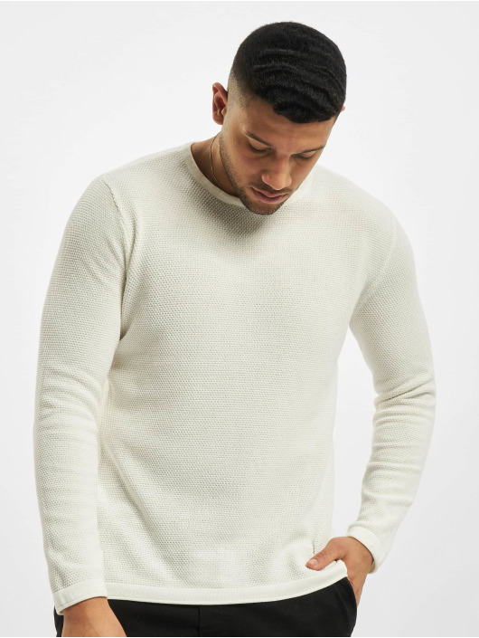 Only & Sons Pullover onsPanter 12 Struc Noos Knit white