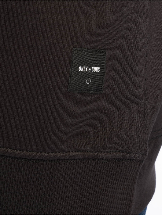 Only & Sons Pulóvre onsBasic Unbrushed èierna