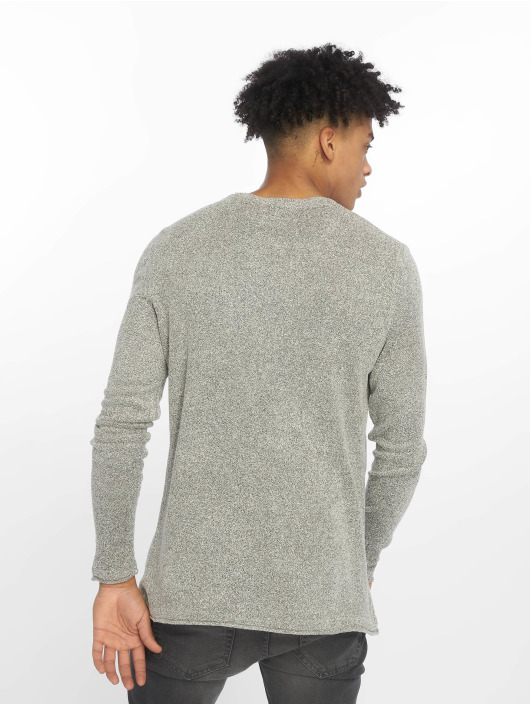Only & Sons Pulóvre onsTed 12 Multi Knit biela