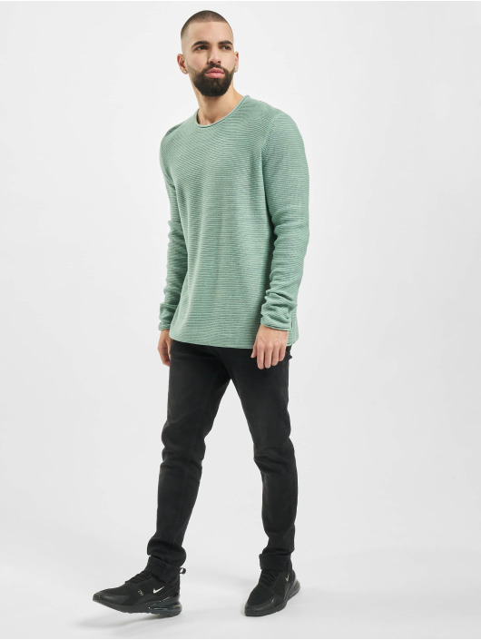 Only & Sons Puserot onsCam 7 Knit vihreä