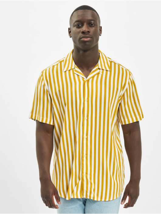 Only & Sons Shirt onsWayne Striped Viscose Noos beige