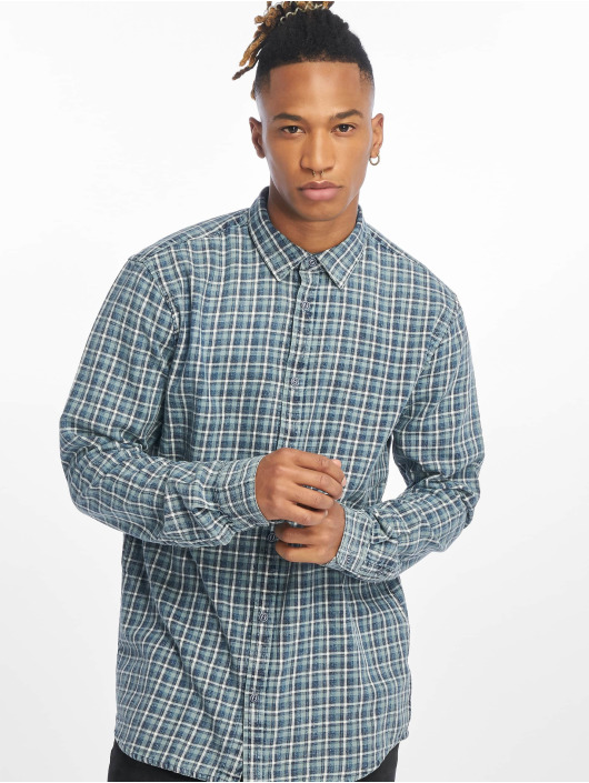 Only & Sons Shirt onsStone Checked Indigo blue