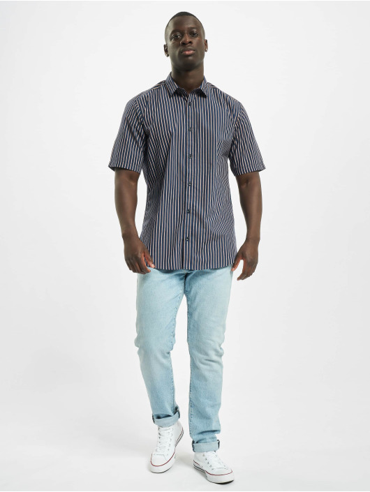 Only & Sons Shirt onsSane Striped Poplin blue