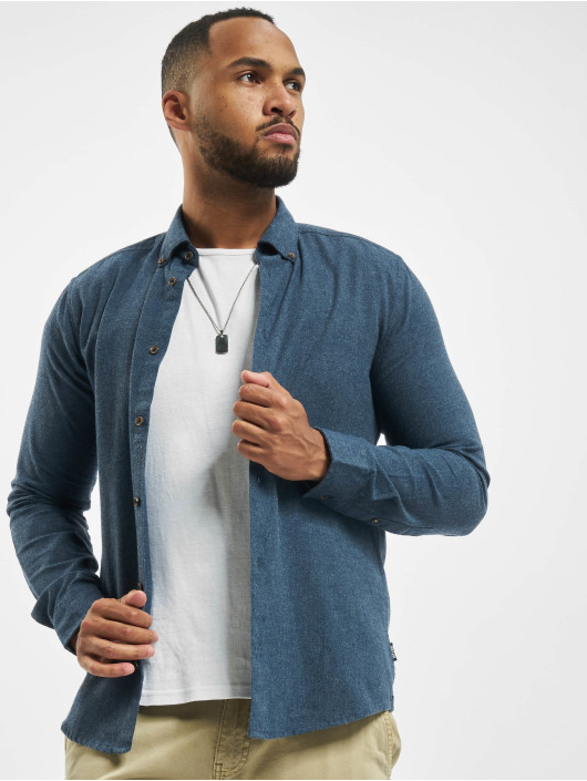 Only & Sons Shirt onsEdin Flannel blue