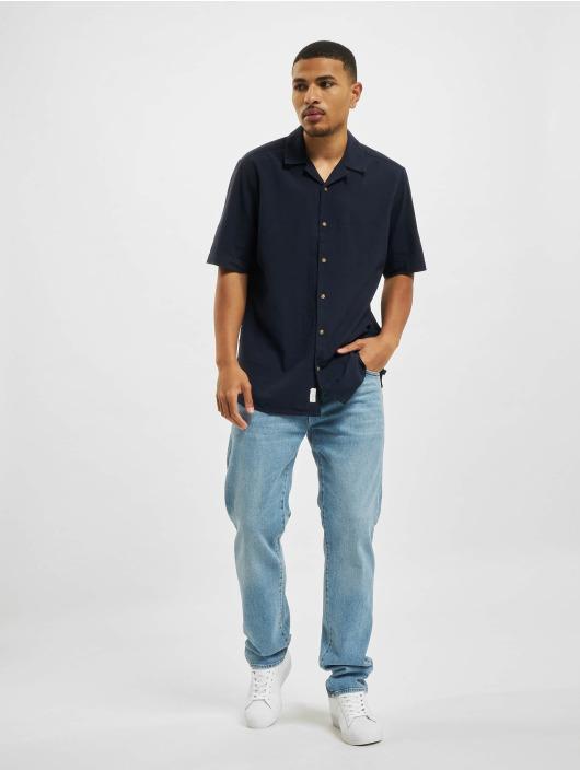 Only & Sons Shirt Ons Steve Life Seersucker REG blue