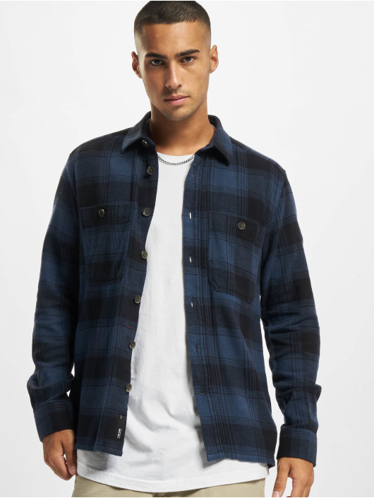Only & Sons Shirt Onsnadal Flannel blue
