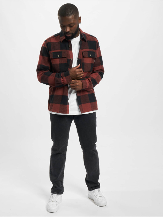 Only & Sons Shirt Onsscott Flannel brown