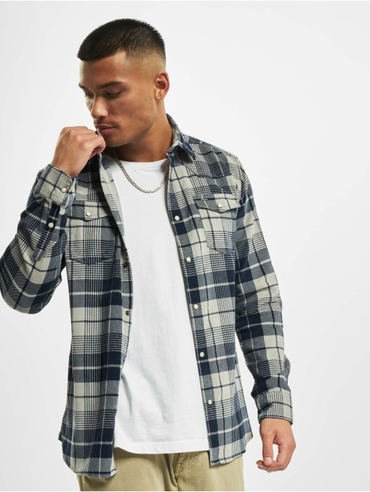 Only & Sons Shirt onsWesten Life Check gray