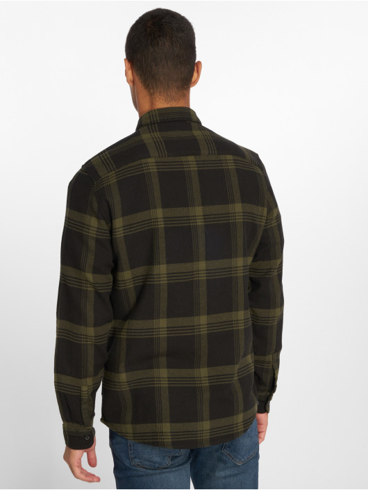 Only & Sons Shirt Onswillem Checked olive