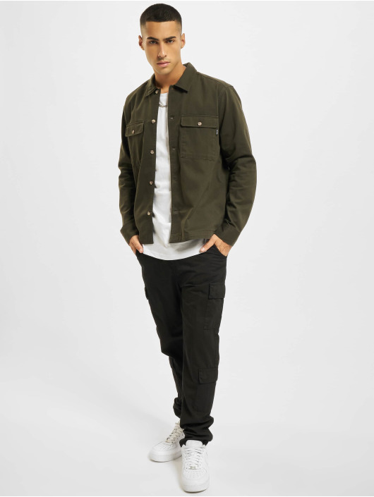 Only & Sons Shirt Onsilvio Life Twill olive
