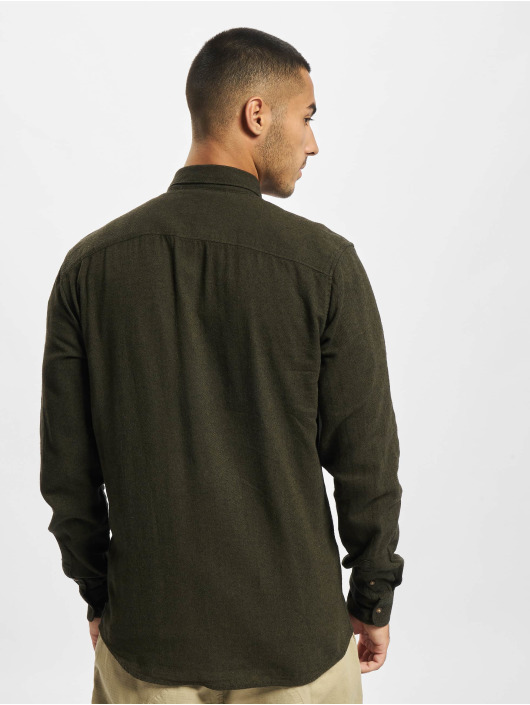Only & Sons Shirt Onssimon Flannel olive
