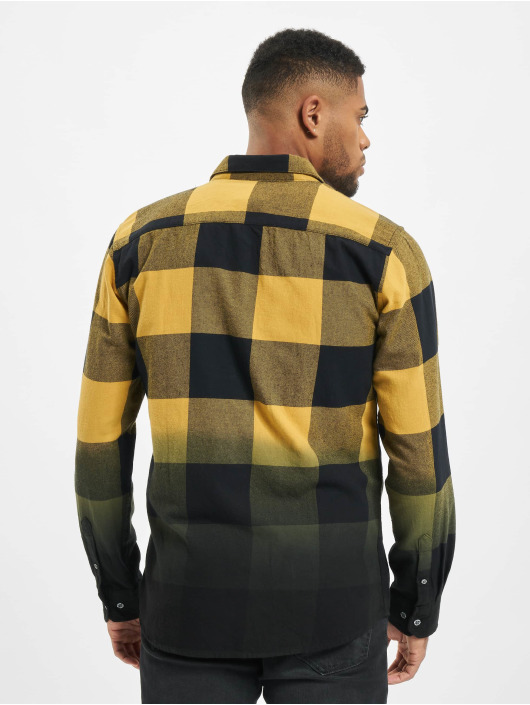 Only & Sons Shirt onsFreddy Dip Dye yellow