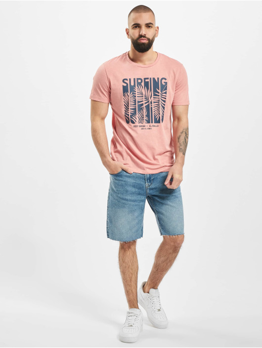 Only & Sons Short onsPly Raw Hem Zip bleu