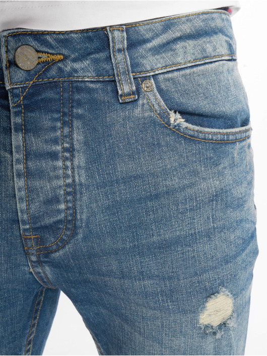 Only & Sons Shorts onsPly Damage blau