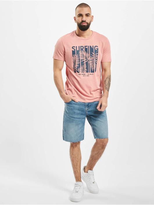 Only & Sons Shorts onsPly Raw Hem Zip blau