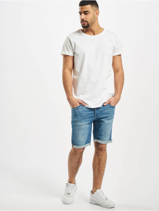 Only & Sons Shorts onsPly 70es blau
