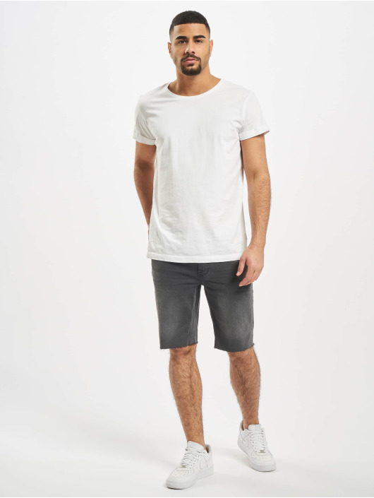 Only & Sons Shorts onsPly Raw Hem grå