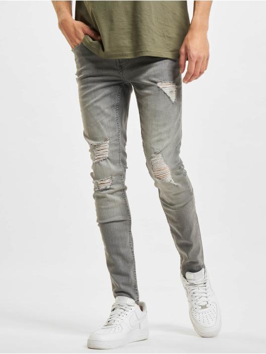 Only & Sons Skinny Jeans Onswarp Life ST 9808 šedá