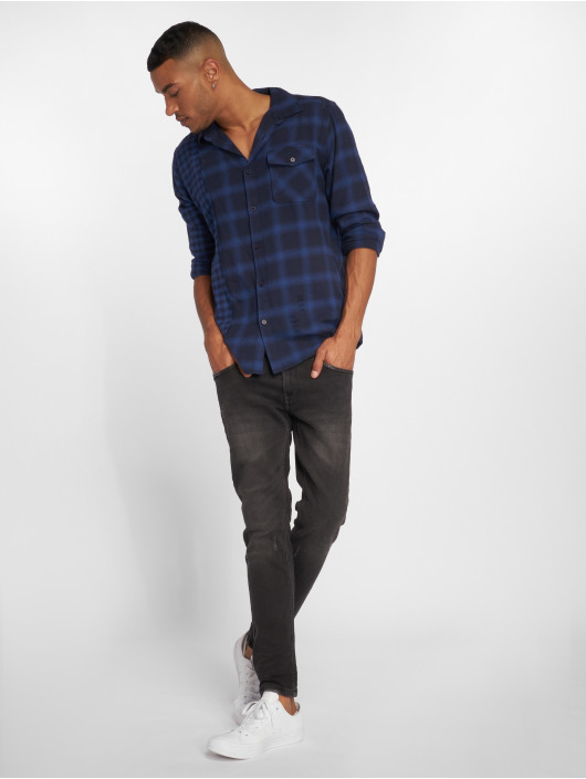 Only & Sons Skinny Jeans onsWarp Washed black